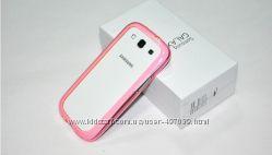 Чехол Samsung Galaxy S3 i9300 , рамка пластик