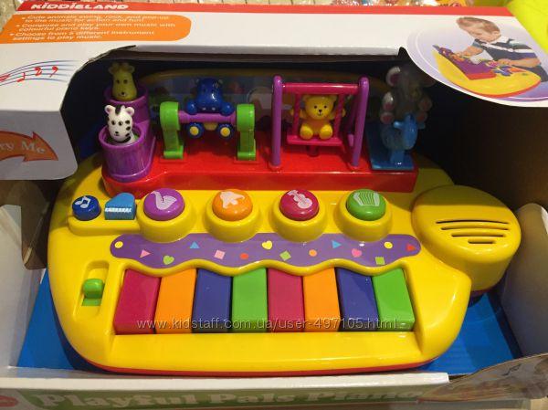 Пианино - Зверята на качелях свет, звук Kiddieland