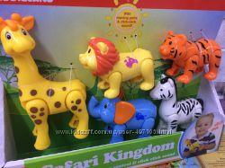 Игровой набор - Дикие животные Kiddieland Бесплатная доставка