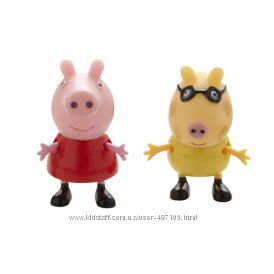 Набор фигурок Peppa - ПЕППА И ЕЕ ДРУЗЬЯ (Пеппа и Педро)