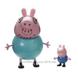Набор фигурок Peppa - СЕМЬЯ ПЕППЫ (Джордж и Папа)