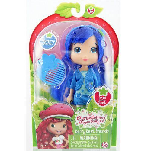 Кукла ШАРЛОТТА ЗЕМЛЯНИЧКА серии Модные прически - ЧЕРНИЧКА (15 см, с ароматом)