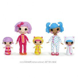 250 грн Набор с куклами MINILALALOOPSY серии Веселая компашка - СПОКОЙНОЙ НОЧИ, МАЛЫШИ (5 кукол)