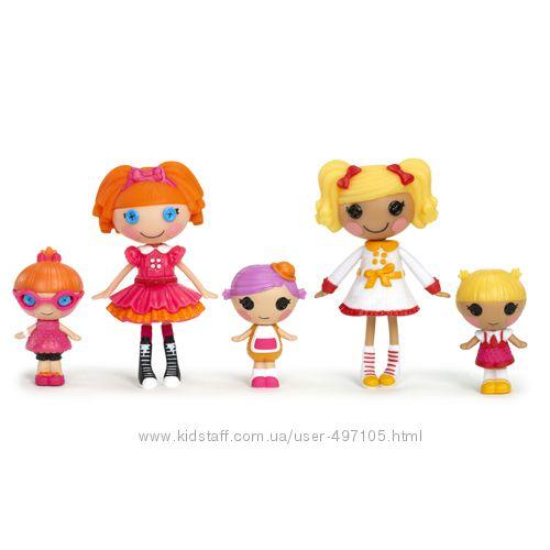 470 грн Набор с куклами MINILALALOOPSY серии Веселая компашка - ПЕРВОКЛАШКИ (5 кукол)