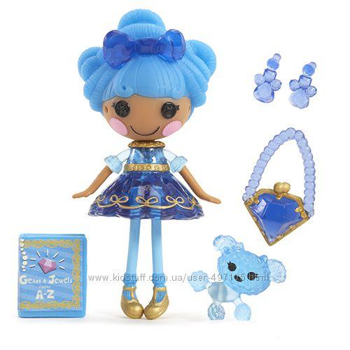 195 грн Кукла MINILALALOOPSY серии Принцессы-самоцветы - САПФИР (с аксессуарами)