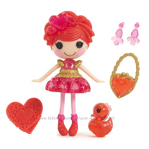 195 грн Кукла MINILALALOOPSY серии Принцессы-самоцветы - РУБИН (с аксессуарами)