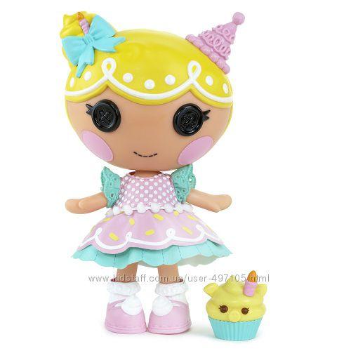 530 грн Кукла МАЛЫШКА LALALOOPSY серии Сладкоежки - СЛАСТЁНА (с аксессуарами)