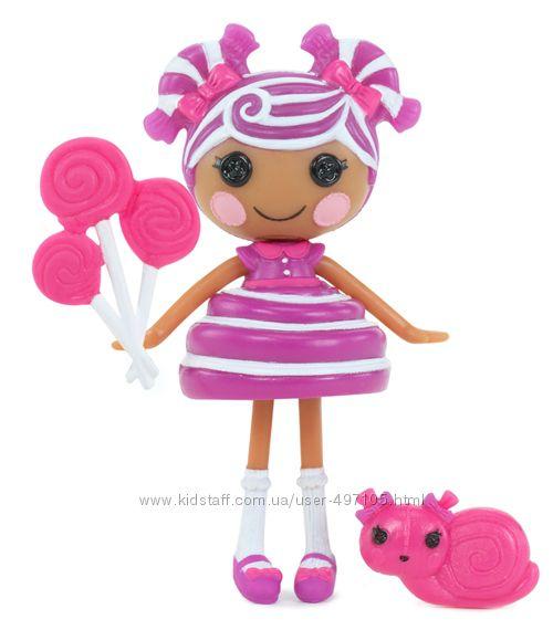 195 грн Кукла MINILALALOOPSY серии Сладкоежки - ИРИСКА (с аксессуарами)