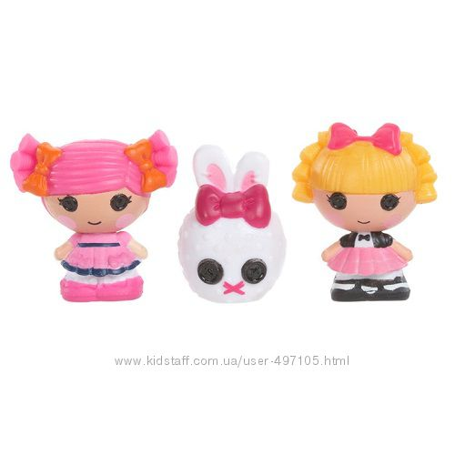 143 грн Набор с куклами КРОШКАМИ LALALOOPSY - ФОКУСНИЦА И ЯГОДКА (2 куклы, питомец)