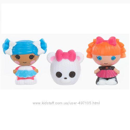 143 грн Набор с куклами КРОШКАМИ LALALOOPSY - СНЕЖИНКА И УМНИЦА ОТЛИЧНИЦА (2 куклы, питомец)