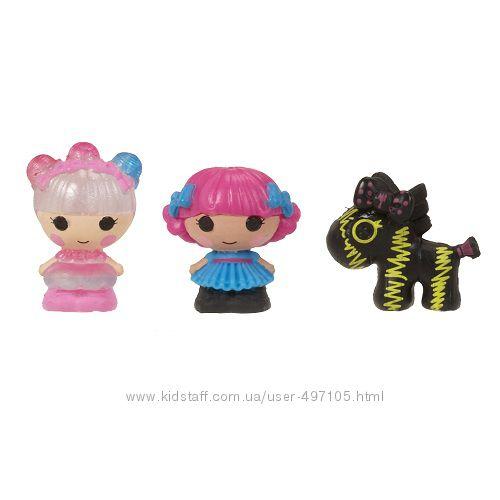 143 грн Набор с куклами КРОШКАМИ LALALOOPSY - МЕРЦАЮЩАЯ ФЕЯ И ПАРИЖАНКА (2 куклы, питомец)