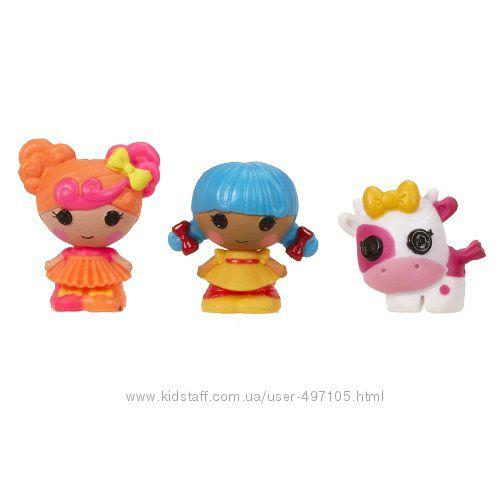 143 грн Набор с куклами КРОШКАМИ LALALOOPSY - КАРАМЕЛЬКА И СКАЗОЧНИЦА (2 куклы, питомец)