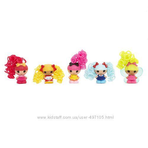 343 грн Набор с куклами КРОШКАМИ LALALOOPSY серии Кудряшки-симпатяшки - ВЕСЕЛЫЕ ПОДРУЖКИ (5 кукол)