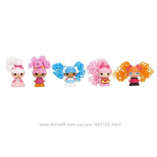 343 грн Набор с куклами КРОШКАМИ LALALOOPSY серии Кудряшки-симпатяшки - ЛУЧШИЕ ПОДРУЖКИ (5 кукол)