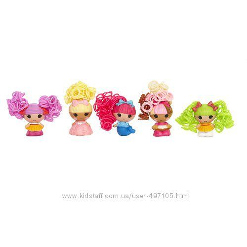 343 грн Набор с куклами КРОШКАМИ LALALOOPSY серии Кудряшки-симпатяшки - СКАЗОЧНЫЕ ПОДРУЖКИ (5 кукол)