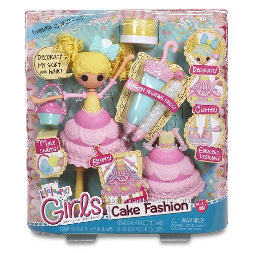 805 грн Набор с куклой LALALOOPSY GIRLS серии Lalabration - СЛАСТЕНА (с аксессуарами)