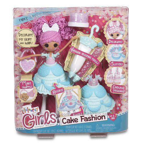 805 грн Набор с куклой LALALOOPSY GIRLS серии Lalabration - ГЛАЗУРИНА (с аксессуарами)