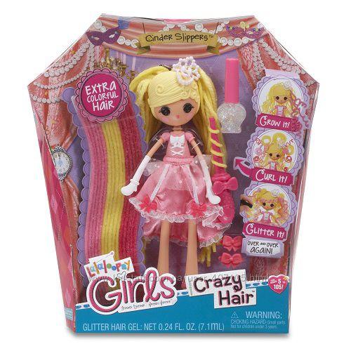 665 грн Набор с куклой LALALOOPSY GIRLS серии Crazy Hair - ЗОЛУШКА (с аксессуарами)