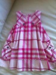 Платье Burberry, оригинал, размер 2Y