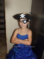 Шляпа треуголка пирата