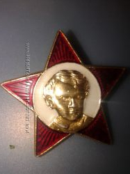 нагрудные значки  старые СССР
