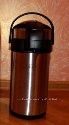 Термос вакуумний 4 л з нержавіючої сталі
