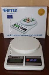 Кухонные электронные весы от 1г до 5кг