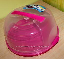 Тортовница подставка на торт 28, 5 цвета в ассортименте