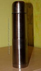 Термос 1л вакуумний нержавіюча сталь в чохлі