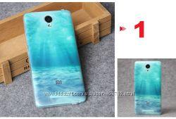 Чехол на Xiaomi Redmi Note 2 силиконовые шикарный принт