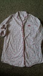 домашняя рубашка-халат