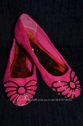 Балетки розовые фирма F&F