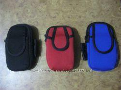 Чехол спортивный на руку для телефона и плеера универсальный двойной мягкий