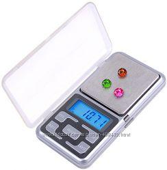 Карманные ювелирные электронные весы от 0, 01 до 200 гр.