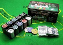 Покерний набор 200 фишек