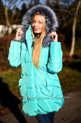 Зимняя куртка- пуховик 5 цветов
