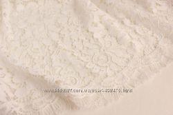 Шикарная кружевная ткань для свадебного наряда
