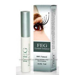 FEG - мощнейшая сыворотка для роста ресниц Потрясающий эффект Низкая цена