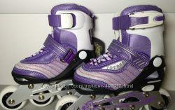 Ролики Maraton Topbest TB11A5 фиолетовый 27-30
