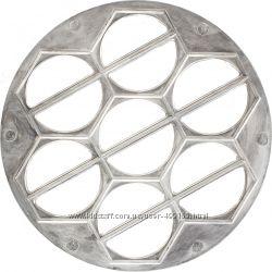 Алюминиевая варенница, вареничница для вареников форма