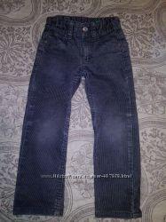 Фирменные узкие джинсы скинни Benetton для мальчика в хорошем состоянии