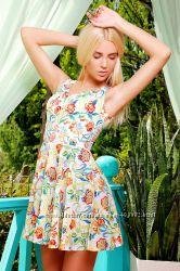 Легкий яркий летний сарафан