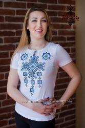 Жіноча футболка-вишиванка Писанка