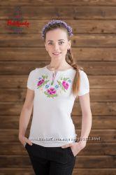 Стильные женские вышиванки Маки - ТМ Podolyanka