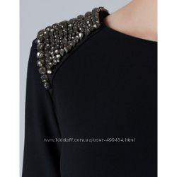 Расшитые плечи на платьях