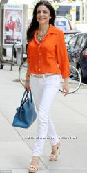 Ralph Lauren Оригинал дизайнерская блузка оранжевая