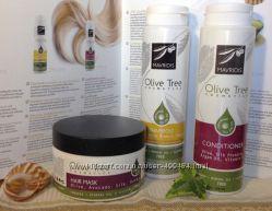 Маска для волос оливковое масло, шелк, мед, авокадо