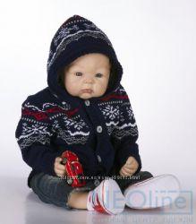 теплые вязаные полушерстяные костюмы для деток