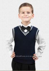 Модные, качественные жилеты, кофты, кардиганы для школьников  полушерсть
