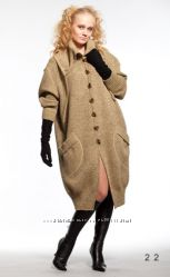 Удобные  модные качественные вязаные пальто
